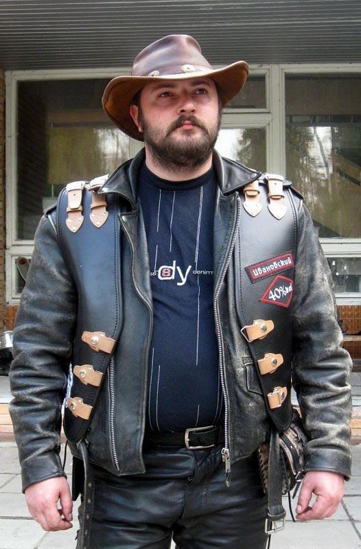 Мужская куртка кожаная байкерская — Ателье по коже