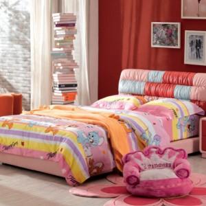 Детская кровать с мягким кожаным изголовьем — Ателье по коже Чебоксары