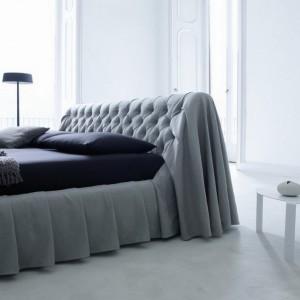 Дизайнерская кровать с мягким изголовьем — Ателье по коже Чебоксары