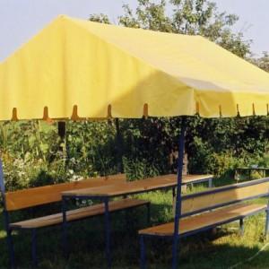 Тент навес палатка для дачи отдыха — Ателье по коже