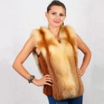 Жилет женский пошив на заказ в Ателье по коже - фото 6
