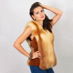 Жилет женский пошив на заказ в Ателье по коже - фото 5