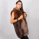 Жилет женский пошив на заказ в Ателье по коже - фото 4