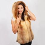 Жилет женский пошив на заказ в Ателье по коже - фото 3