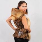 Жилет женский пошив на заказ в Ателье по коже - фото 2