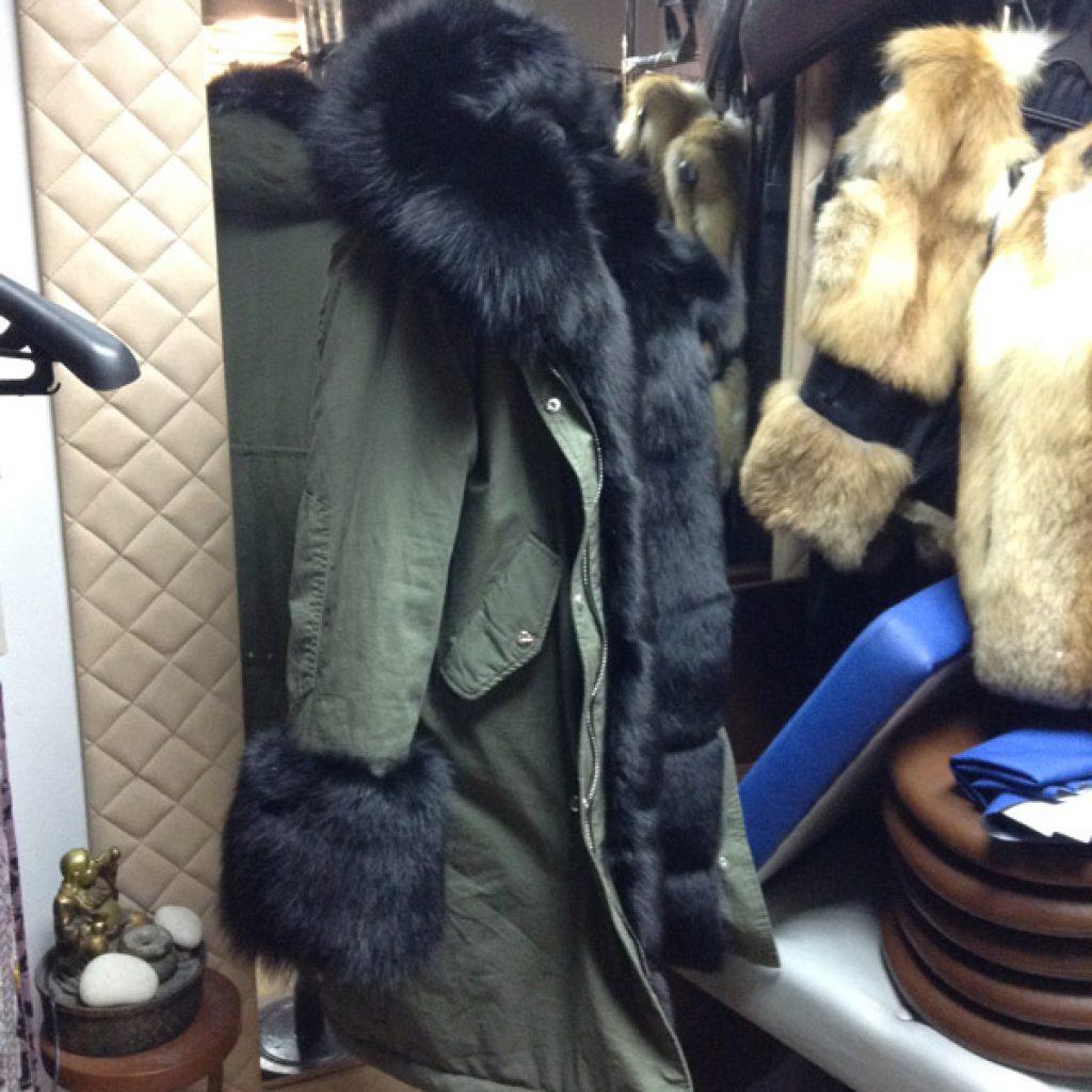 Куртка-парка в Ателье по коже Чебоксары
