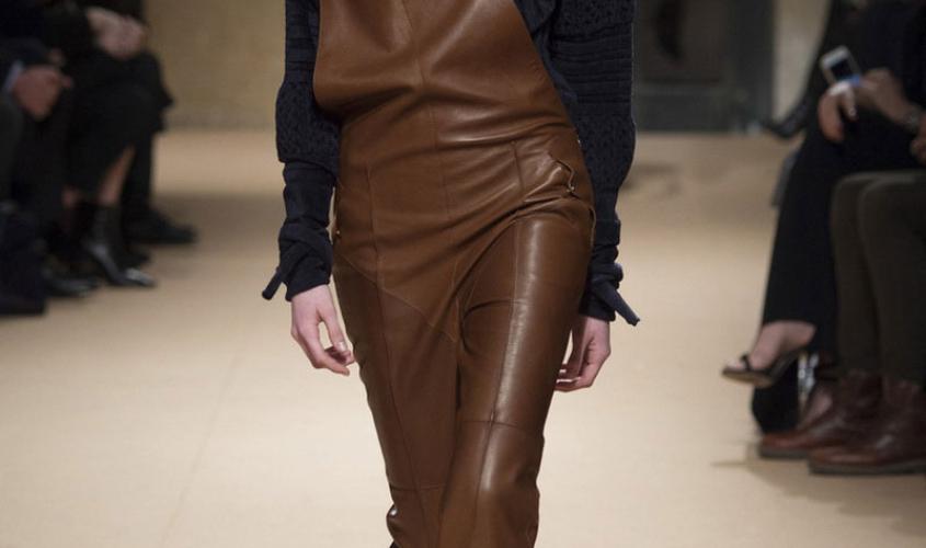 Женские кожаные штаны пошив Ателье по коже Чебоксары - 20