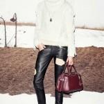 Женские кожаные штаны пошив Ателье по коже Чебоксары - фото 38
