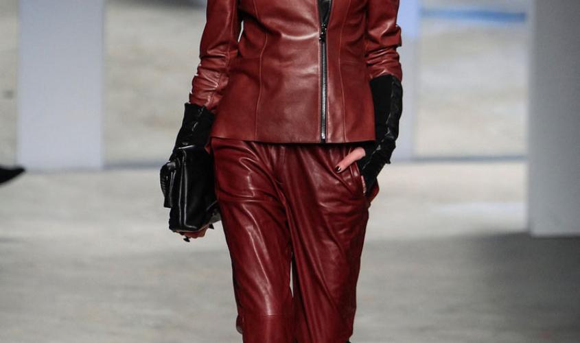 Женские кожаные штаны пошив Ателье по коже Чебоксары - 42
