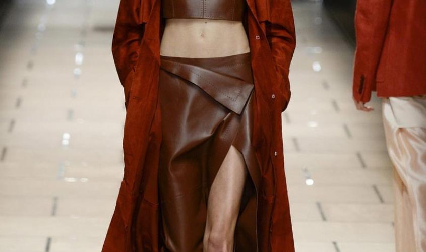 Кожаные юбки пошив на заказ Ателье по коже - 13