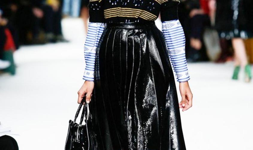 Кожаные юбки пошив на заказ Ателье по коже - 15