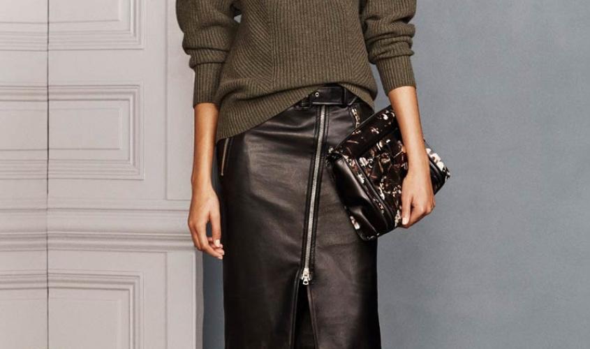 Кожаные юбки пошив на заказ Ателье по коже - 21
