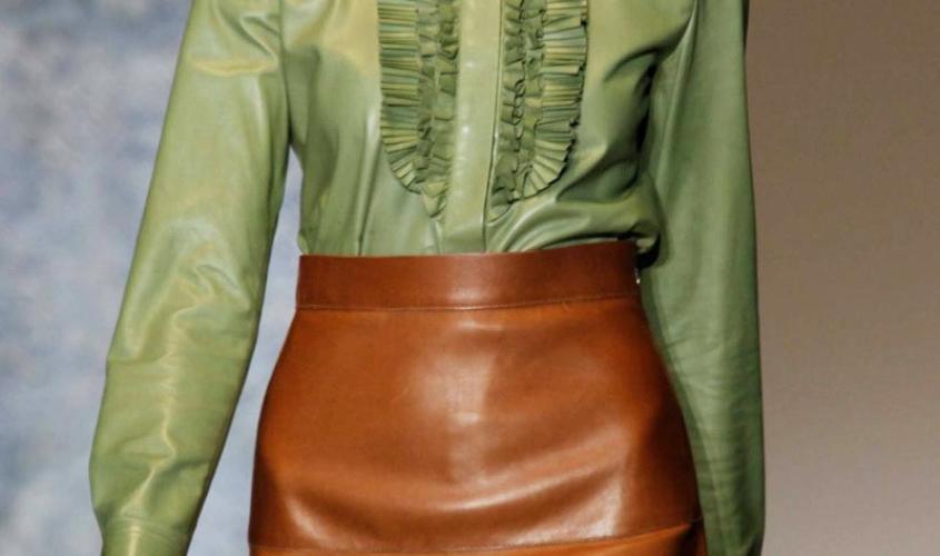 Кожаные юбки пошив на заказ Ателье по коже - 22