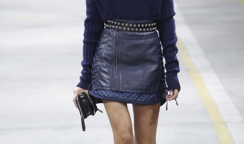 Кожаные юбки пошив на заказ Ателье по коже - 23
