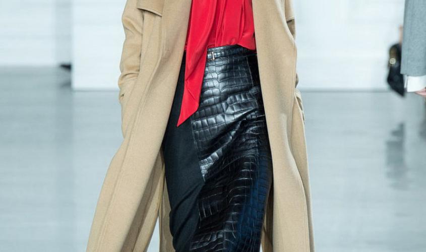 Кожаные юбки пошив на заказ Ателье по коже - 27