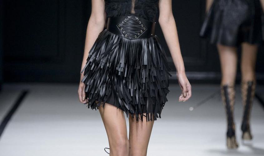 Кожаные юбки пошив на заказ Ателье по коже - 29