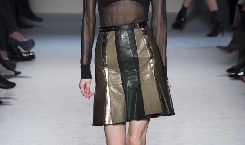 Кожаные юбки пошив на заказ Ателье по коже - 3