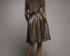 Кожаные юбки пошив на заказ Ателье по коже - 7