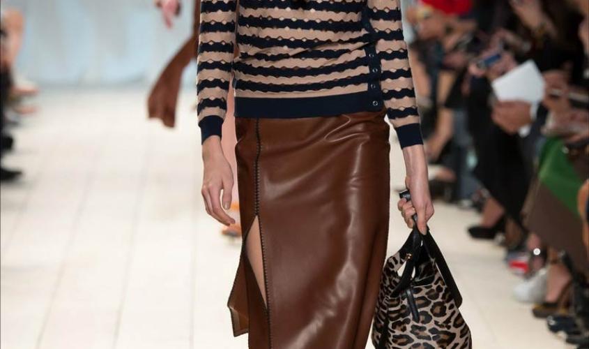Кожаные юбки пошив на заказ Ателье по коже - 9