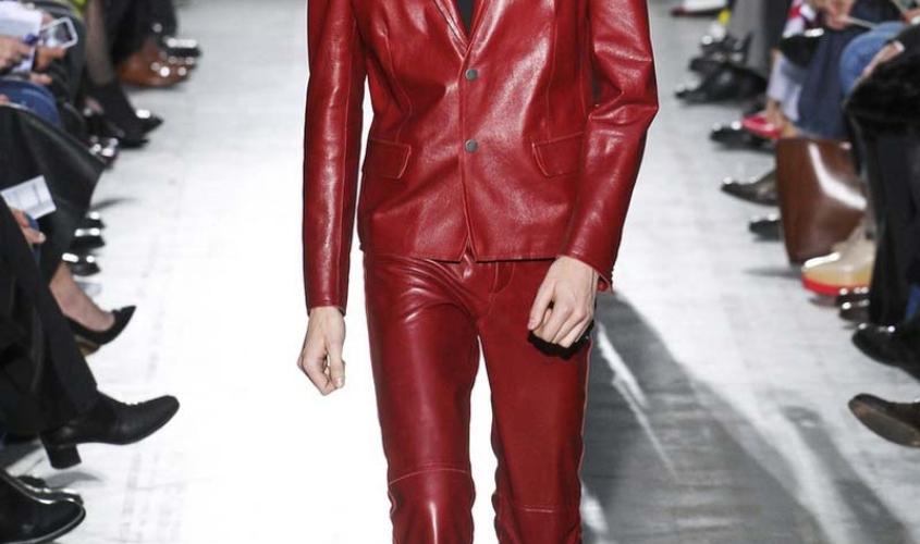 Кожаные штаны мужские пошив Ателье по коже Чебоксары - 1
