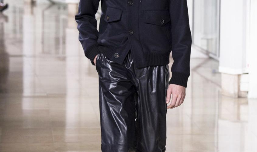 Кожаные штаны мужские пошив Ателье по коже Чебоксары - 11