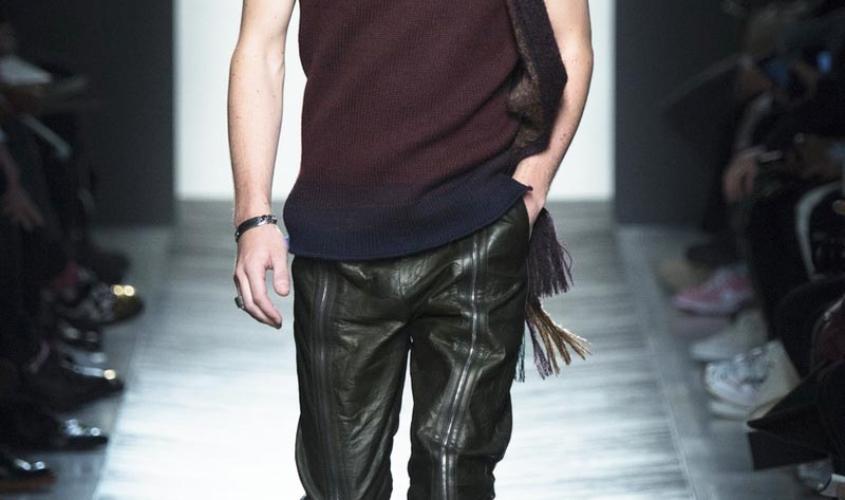 Кожаные штаны мужские пошив Ателье по коже Чебоксары - 3