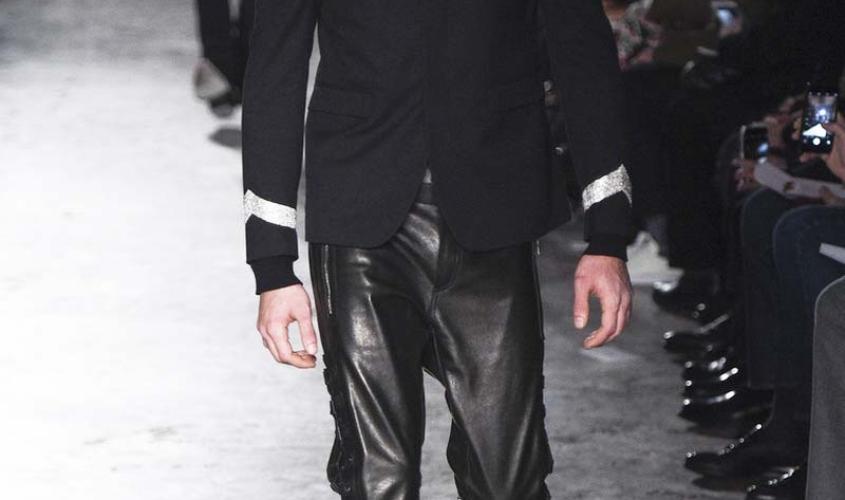 Кожаные штаны мужские пошив Ателье по коже Чебоксары - 5