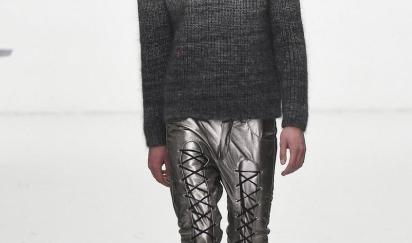 Кожаные штаны мужские пошив Ателье по коже Чебоксары - 8