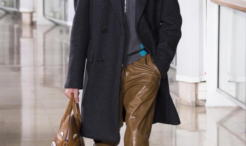 Кожаные штаны мужские пошив Ателье по коже Чебоксары - 9