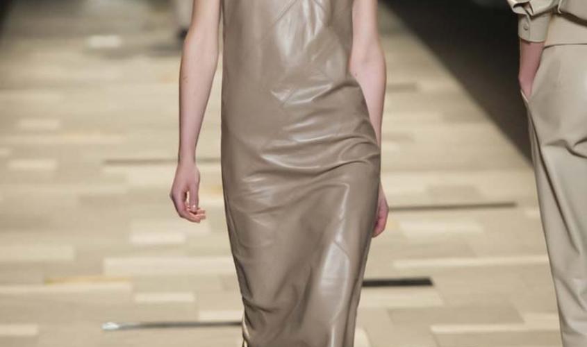Платье кожаное пошив на заказ Ателье по коже - 1