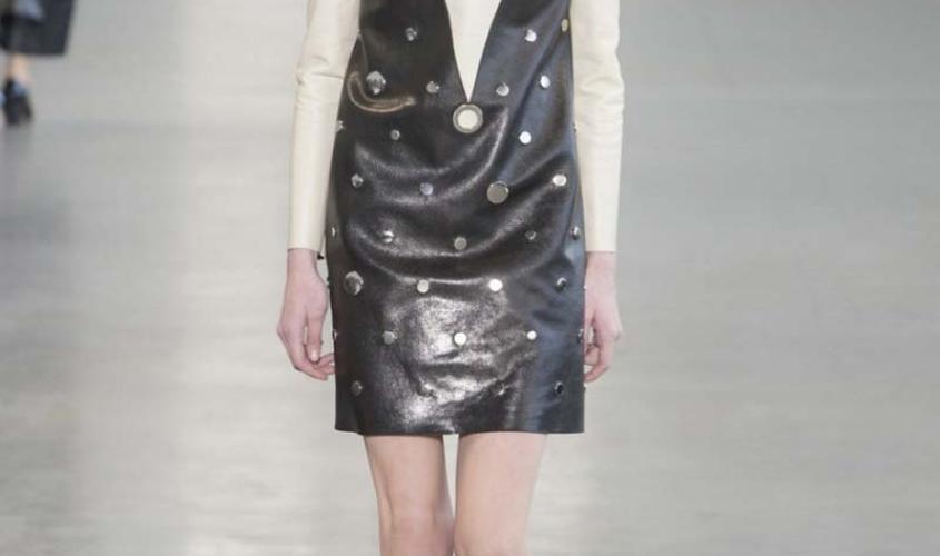 Платье кожаное пошив на заказ Ателье по коже - 4