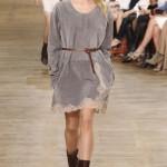 Стильное кожаное платье на заказ