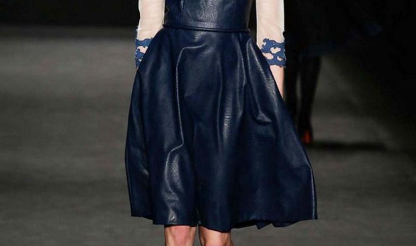 Платье кожаное пошив на заказ Ателье по коже - 7