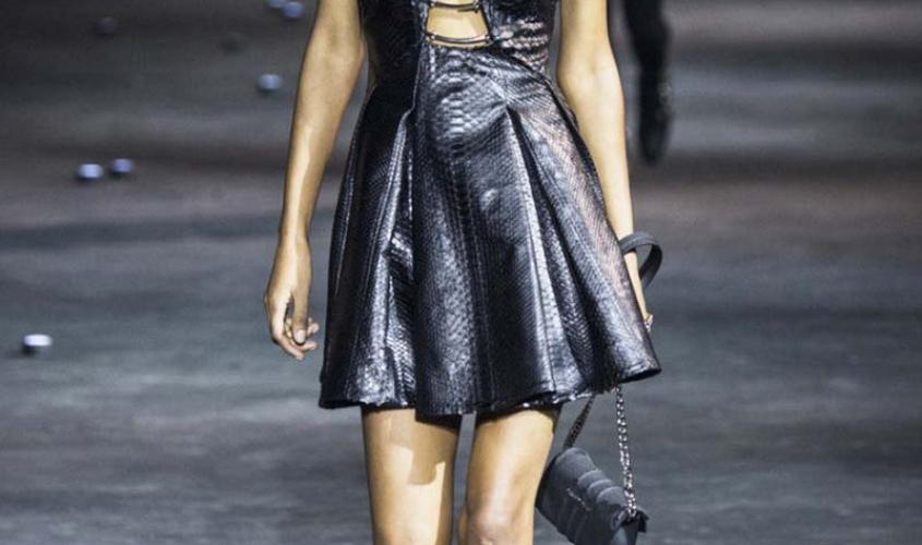 Платье кожаное пошив на заказ Ателье по коже - 8