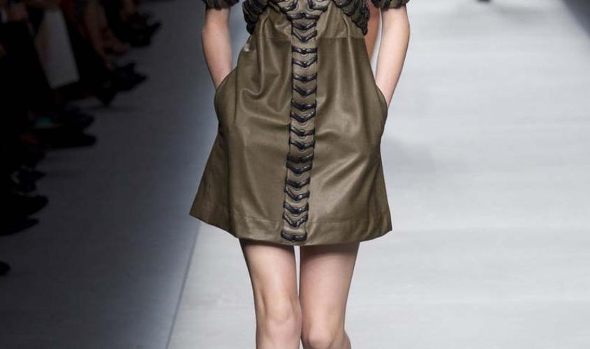 Платье кожаное пошив на заказ Ателье по коже - 10