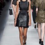 Платье кожаное пошив на заказ Ателье по коже - фото 11