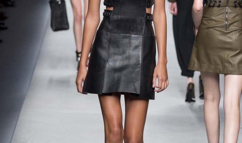 Платье кожаное пошив на заказ Ателье по коже - 11
