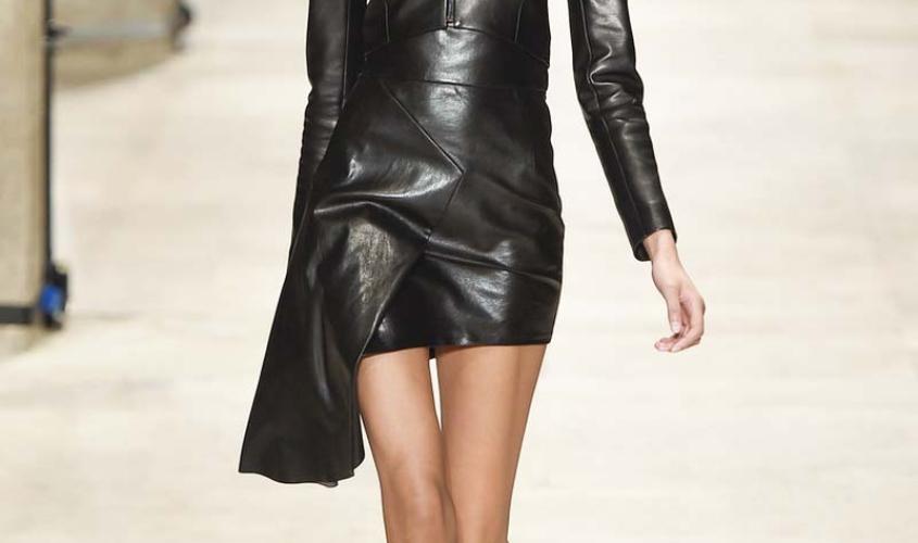 Платье кожаное пошив на заказ Ателье по коже - 13