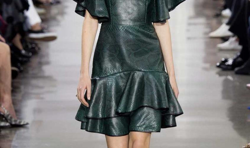 Платье кожаное пошив на заказ Ателье по коже - 15