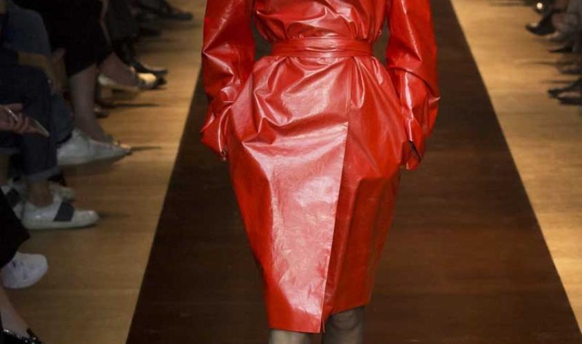 Платье кожаное пошив на заказ Ателье по коже - 21