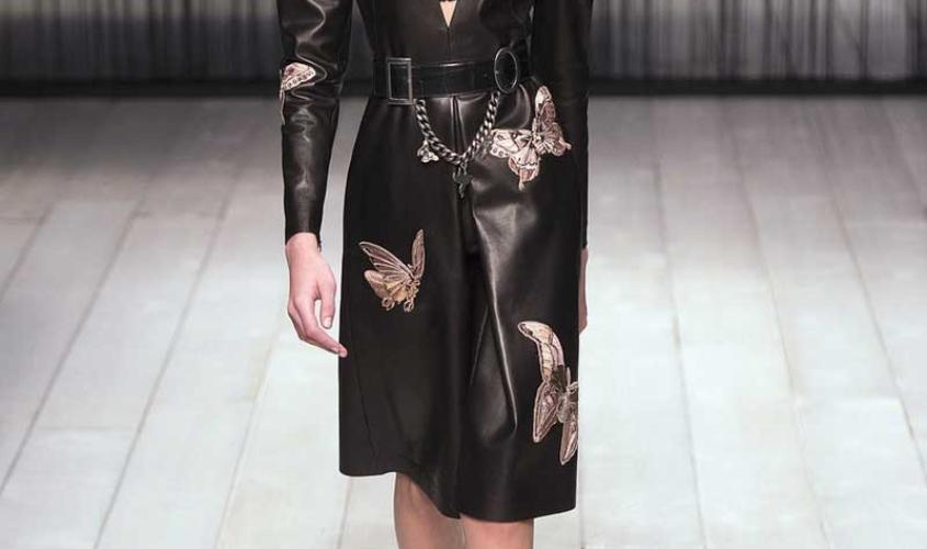Платье кожаное пошив на заказ Ателье по коже - 22