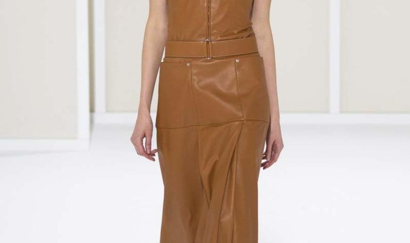 Платье кожаное пошив на заказ Ателье по коже - 23