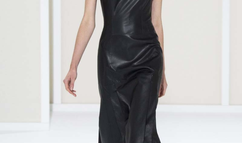 Платье кожаное пошив на заказ Ателье по коже - 25