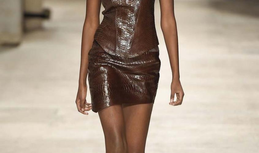 Платье кожаное пошив на заказ Ателье по коже - 30