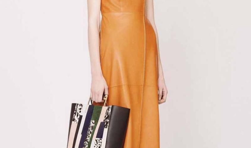 Платье кожаное пошив на заказ Ателье по коже - 31