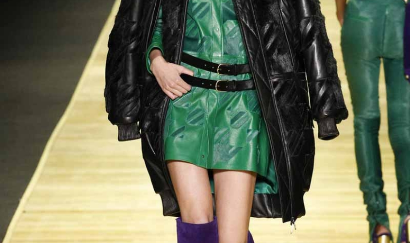 Платье кожаное пошив на заказ Ателье по коже - 35