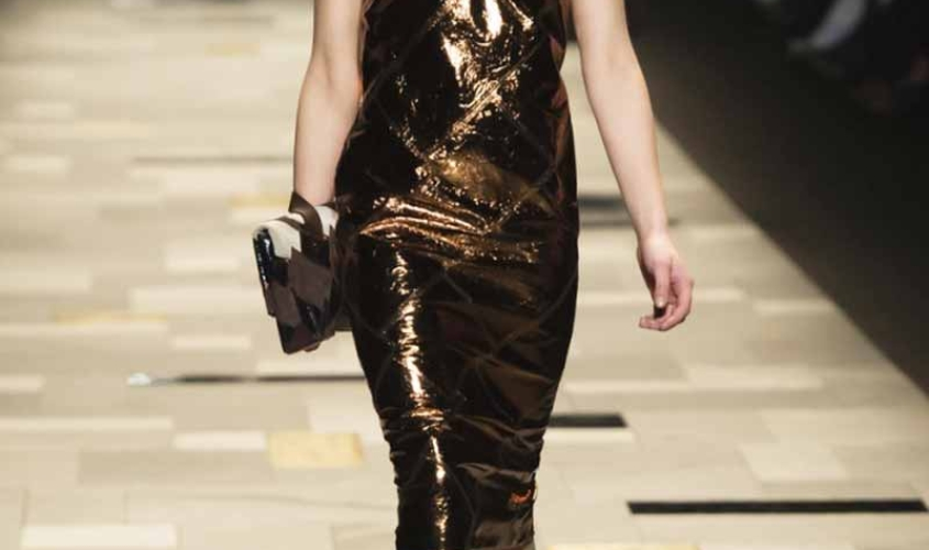 Платье кожаное пошив на заказ Ателье по коже - 36