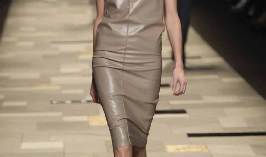 Платье кожаное пошив на заказ Ателье по коже - 37