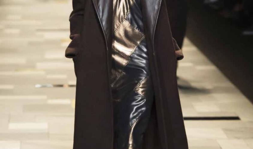 Платье кожаное пошив на заказ Ателье по коже - 38