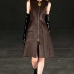 Платье кожаное пошив на заказ Ателье по коже - фото 47